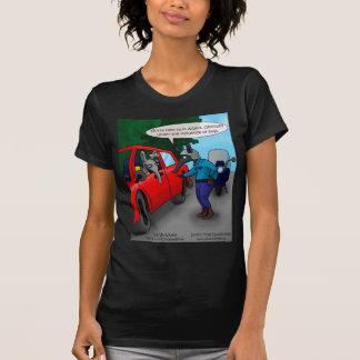 Londons mide el tiempo de camisetas del dibujo polera
