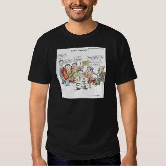 Londons mide el tiempo de camisetas playera
