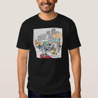 Londons mide el tiempo de camisetas polera