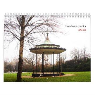 London's parks calendar