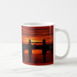 London's Tower Bridge at Daybreak Classic White Coffee Mug