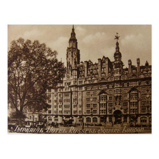 Londres 1937 tarjeta postal