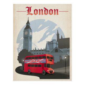 Londres - autobús rojo tarjetas postales