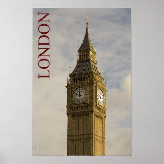 Londres - Big Ben Poster