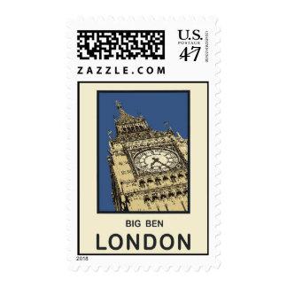 Londres Big Ben Timbres Postales