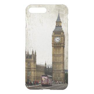 Londres Big Ben y autobús Funda Para iPhone 7 Plus