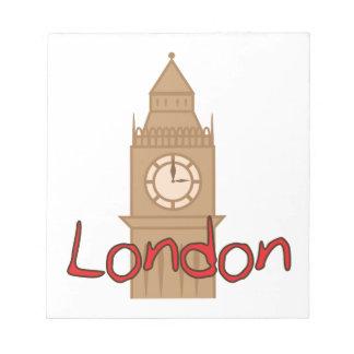 Londres Blocs De Papel