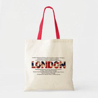 Londres Bolsa Tela Barata