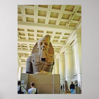 Londres British Museum Pharoah 1 Poster