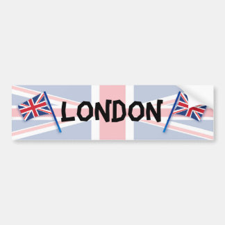 Londres Etiqueta De Parachoque