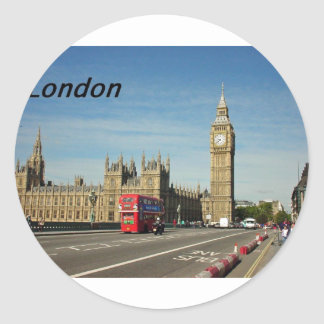 Londres-ciudad [kan.k] .JPG Pegatina Redonda