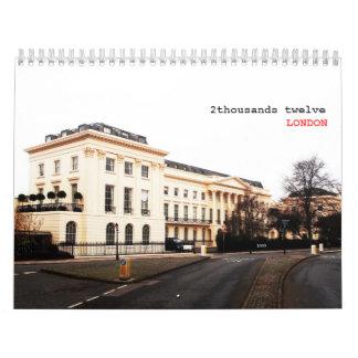 LONDRES clásico - 2 Calendario