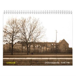 LONDRES clásico -2- Calendario