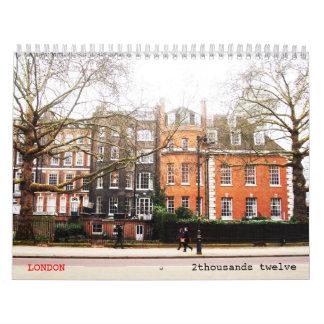 LONDRES clásico - 2 Calendario De Pared
