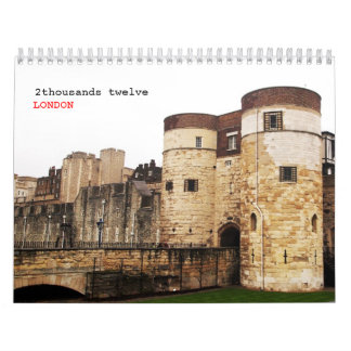 LONDRES clásico -2- Calendario De Pared