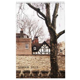 LONDRES clásico - 2 Calendarios