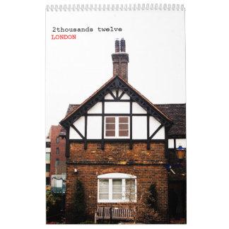 LONDRES clásico -2- Calendarios