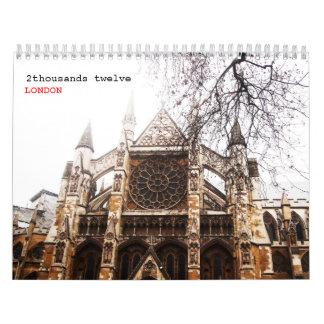 LONDRES clásico -2- Calendarios De Pared