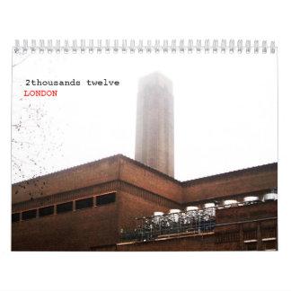 LONDRES clásico - 2 Calendarios De Pared