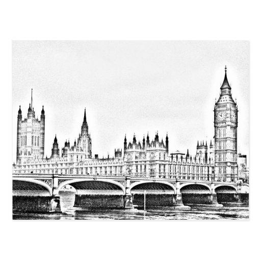 LONDRES clásico Tarjetas Postales