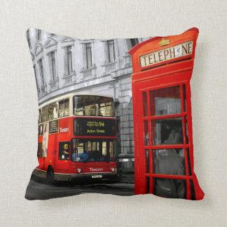 Londres con un tacto del color cojin