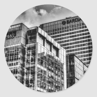 Londres corporativo pegatina redonda