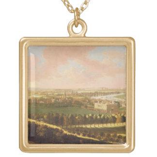 Londres de la colina de Greenwich, c.1680 (aceite  Colgante Cuadrado