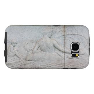 Londres de talla de mármol Reino Unido Fundas Samsung Galaxy S6