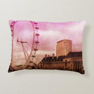Londres, effekt rosado cojín decorativo