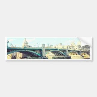 Londres en azul pegatina para auto
