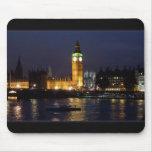 Londres en la noche alfombrillas de ratones