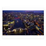 Londres en la noche (por St.K) Postal