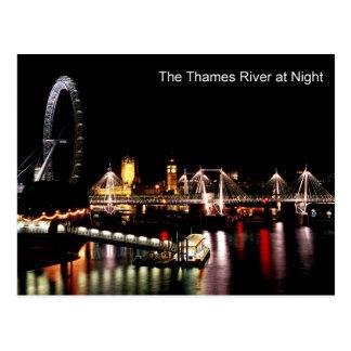 Londres en la postal de la noche