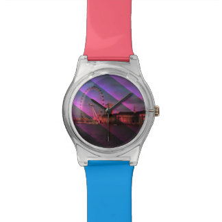 Londres en rayas relojes de mano
