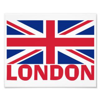 Londres en rojo fotografías