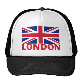 Londres en rojo gorras