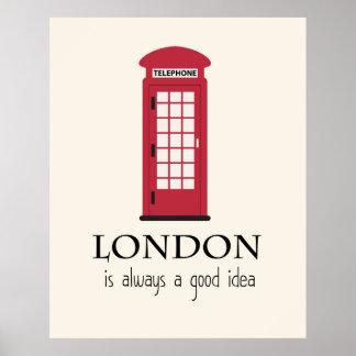 Londres es siempre una buena idea póster
