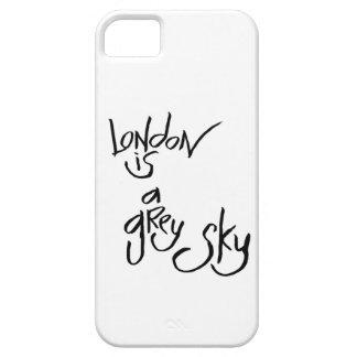 Londres es un cielo gris funda para iPhone 5 barely there