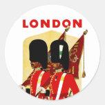 Londres Etiqueta Redonda