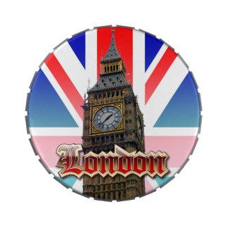 Londres Frascos De Dulces