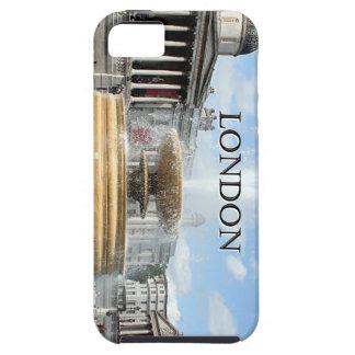 Londres: Fuente del cuadrado de Trafalgar Funda Para iPhone 5 Tough