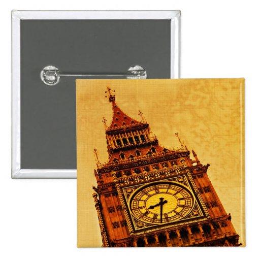Londres, grunge de Big Ben Pins