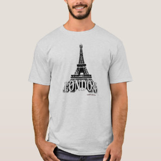 Londres Inglaterra que ofrece la torre Eiffel Playera