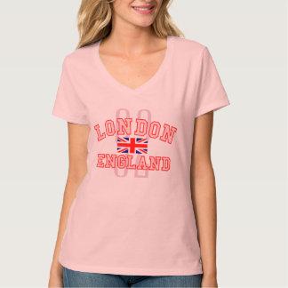 Londres Inglaterra Union Jack número 92 Playera