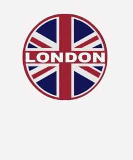 LONDRES inspiró la camiseta GRÁFICA de la bandera Playeras