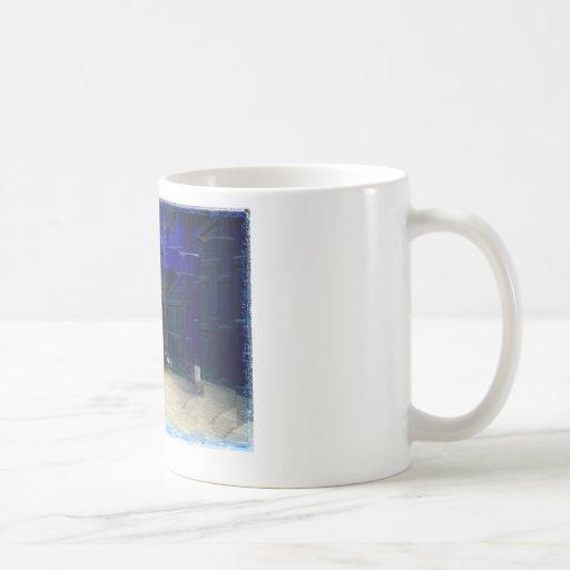 Londres llamada taza de café