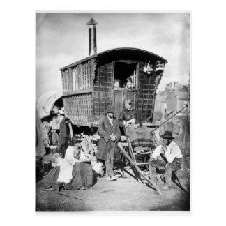 Londres Nomades, c.1876 Postal