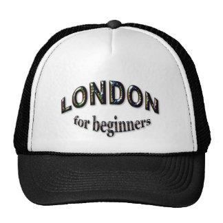 Londres para los principiantes gorros