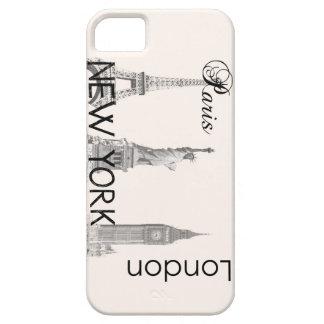Londres, París, Nueva York iPhone 5 Carcasa