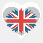Londres Pegatina En Forma De Corazón